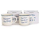 MOMMIN' AIN'T EASY CERAMIC MUG SET 1st Alternate Image