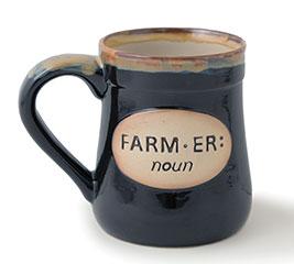 FARMER/NOUN PORCELAIN MUG