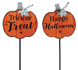 PICK PUMPKIN SHAPE HALLOWEEN MESSAGES