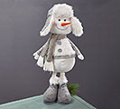 EXPANDABLE LEG SNOWMAN WITH WINTER HAT