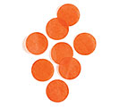 ORANGE PAPER DOT CONFETTI