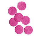 HOT PINK PAPER DOT CONFETTI