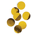 GOLD METALLIC FOIL DOT CONFETTI