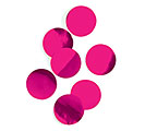 HOT PINK METALLIC FOIL DOT CONFETTI