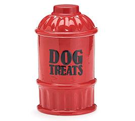 "FIRE HYDRANT COOKIE JAR ""DOG TREATS"""