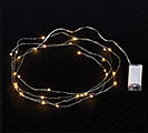 30 LED LIGHTS ON WIRE BATTERY OPERATED