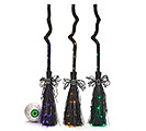 DECOR ANIMATED BROOM WITH COLOR LIGHTS