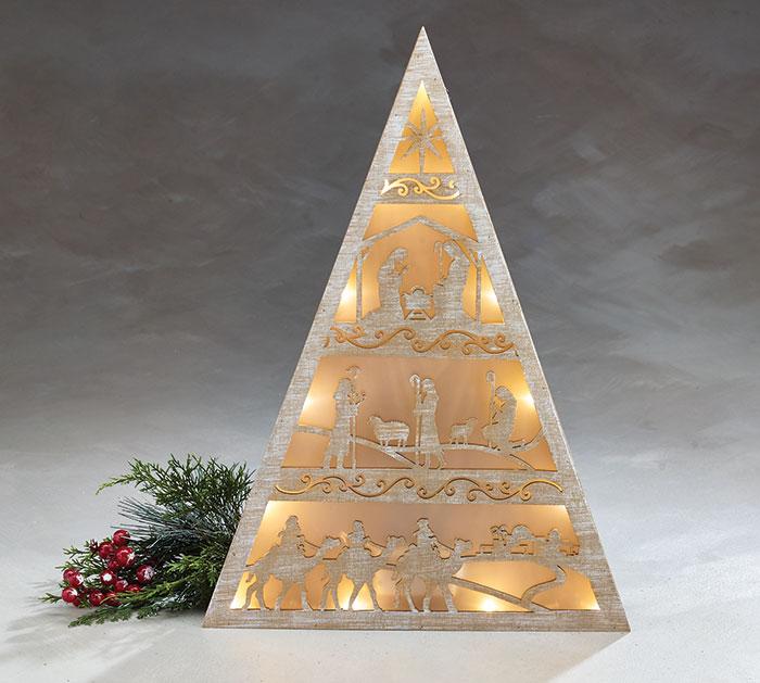 CHRISTMAS STORY LIGHT UP TREE