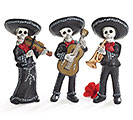 DAY OF THE DEAD MARIACHI BAND FIGURINE