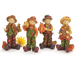 SCARECROWS IN 4 ASSORTED DESIGNS