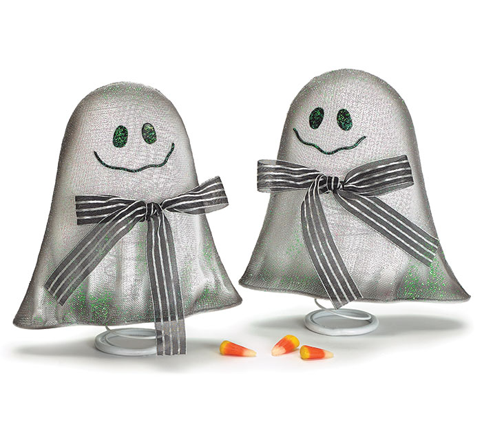 BOBBLE GHOST ASSORTMENT WITH BOWS