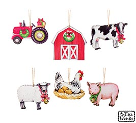 COUNTRYSIDE LIVING ORNAMENT ASSORTMENT