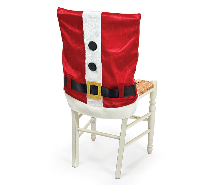 SANTA SUIT CHAIR COVER
