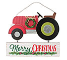RUSTIC TRACTOR WALL HANGING WITH SIGN