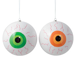 HALLOWEEN EYEBALL ORNAMENTS FOR HANGING