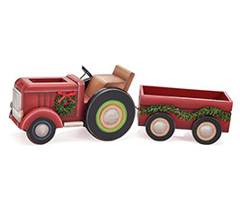 TRACTOR  TRAILER PLANTER SET