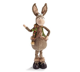 "30"" STANDING WINTER DONKEY WITH VEST"