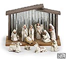 BLESSED BEGINNGS RESIN NATIVITY