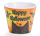 "HAPPY HALLOWEEN 4"" MELAMINE POT COVER"