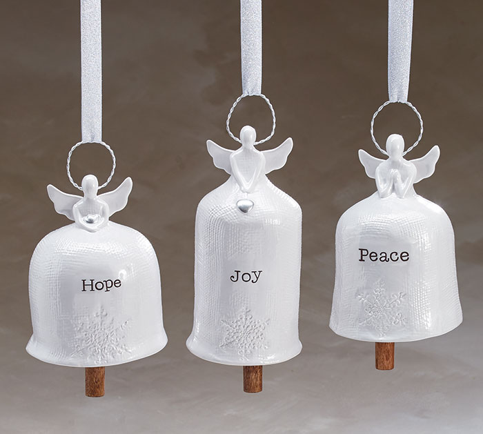 ANGEL BELL SHAPED WIND CHIME ASSORTMENT