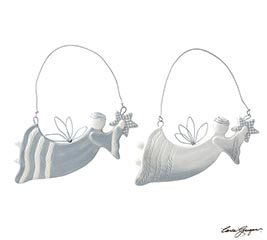 LARGE FLYING ANGEL ASSORTED ORNAMENTS