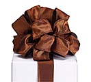 #9 BROWN SATIN RIBBON