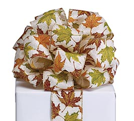 #40 AUTUMN LEAVES RIBBON