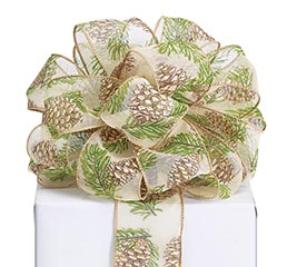 #40 PINECONE RIBBON