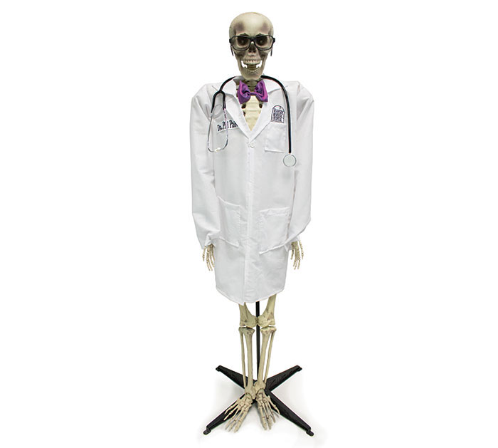 ANIMATED DOCTOR SKELETON DR. PHIL PAIN