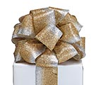 #40 SILVER/GOLD GLITTER RIBBON