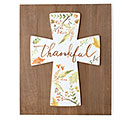 THANKFUL CROSS WALL HANGING