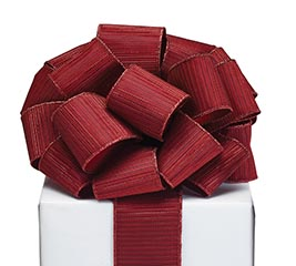 #40 RED METALLIC RIBBON