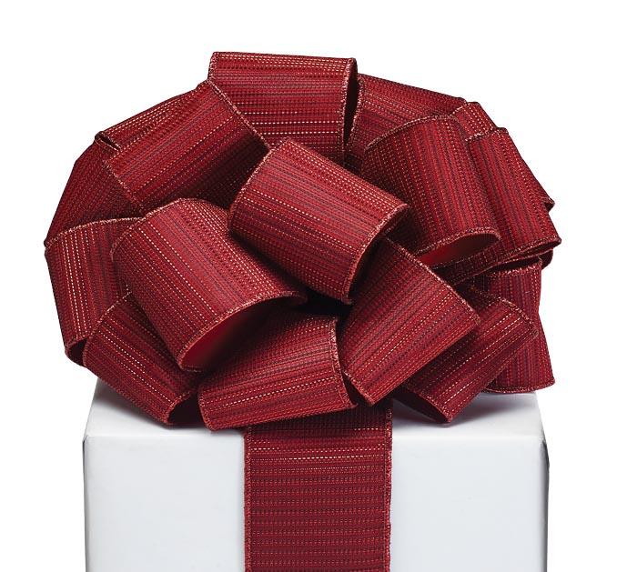 #40 RED METALLIC RIBBON