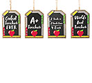TEACHER ORNAMENT ASSORTMENT
