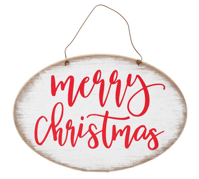 MERRY CHRISTMAS WALL HANGING