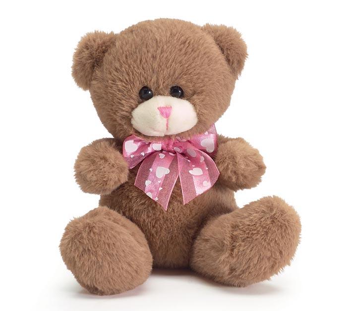 "5 1/2"" VALENTINE BEAR IN DISPLAY BOX"