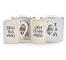 ASSORTED SOUTHERN MESSAGE CERAMIC MUGS 1st Alternate Image