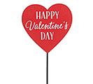 HAPPY VALENTINES DAY HEART PICK