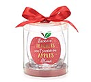 APPLES ALONE STEMLESS WINE GLASS 1st Alternate Image