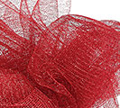 METALLIC RED GOSSAMER - 10 YD ROLL