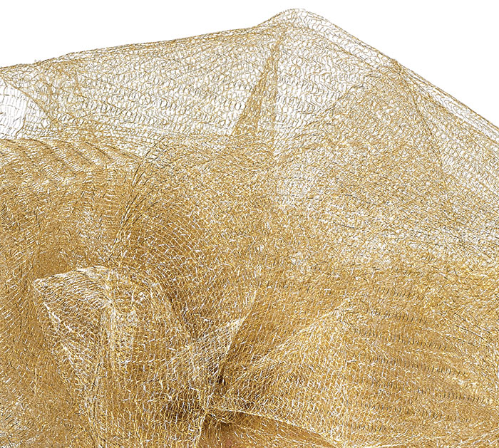METALLIC GOLD GOSSAMER - 10 YD ROLL