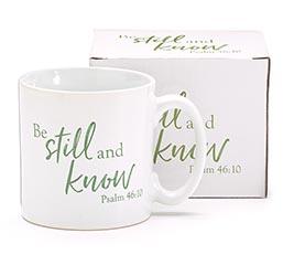 13OZ MUG BE STILL AND KNOW PSALM 46:10