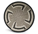 RWANDA WEAVING HOPE ZIG ZAG BASKET 1st Alternate Image