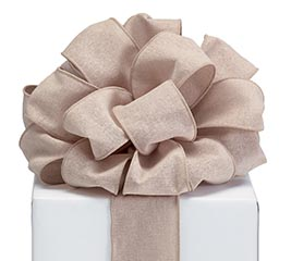 RIBBON #40 KHAKI LINEN LIKE