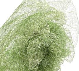METALLIC GREEN GOSSAMER 10 YD