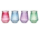SPRING COLORS GLASS VASE