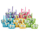 SPRING BASKET ASSORTMENT WITH BOWS