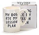 MY DOG ATE MY LESSON PLAN MUG 1st Alternate Image
