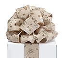 RIBBON #40 NATURAL FLORAL