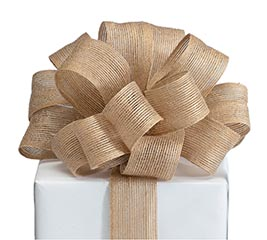 RIBBON #9 NATURAL JUTE